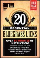 20 Essential Bluegrass Licks (Guitar World)