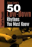 Adam Levy – 50 Low-Down Rhythms You Must Know