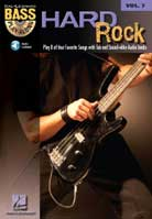 Bass Play-Along Volume 7 – Hard Rock