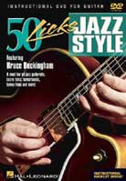 Bruce Buckingham – 50 Licks Jazz Style