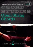 Brad Carlton – Chord Studies: Open String Chords Vol. 1