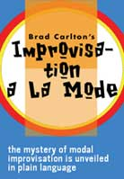 Brad Carlton – Improvisation A La Mode