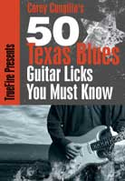 Corey Congilio – 50 Texas Blues Licks You Must Know
