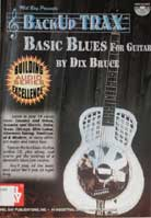 Dix Bruce – BackUp Trax: Basic Blues For Guitar