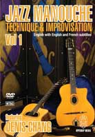 Denis Chang – Jazz Manouche: Technique & Improvisation Vol. 1