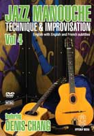 Denis Chang – Jazz Manouche: Technique & Improvisation Volume 4
