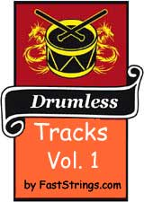 Drumless tracks by FastStrings Volume 1 (Mp3)