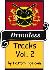 Drumless tracks by FastStrings Volume 2 (Mp3)