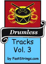 Drumless tracks by FastStrings Volume 3 (Mp3)