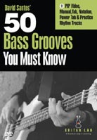 David Santos – 50 Bass Grooves You Must Know