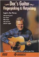 Doc Watson – Doc's Guitar: Fingerpicking & Flatpicking