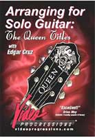 Edgar Cruz – Arranging for Solo Guitar: The Queen Titles