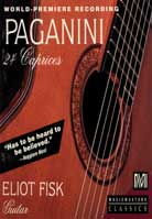Eliot Fisk – Paganini: 24 Caprices arranged for Guitar