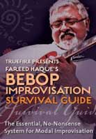 Fareed Haque – Bebop Improvisation Survival Guide