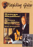 Flatpicking Guitar Magazine Volume 1, Number 6