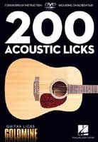 Guitar Licks Goldmine – 200 Acoustic Licks