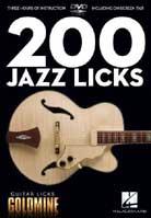 Guitar Licks Goldmine – 200 Jazz Licks