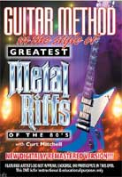 Guitar Method In The Style of Greatest Metal Riffs of the 80's