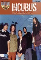 Guitar Play-Along: Volume 40 – Incubus