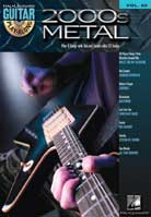 Guitar Play-Along Volume 50 – 2000s Metal