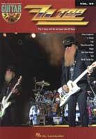 Guitar Play-Along Volume 99 – ZZ Top