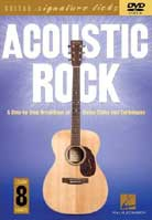 Acoustic Rock – Guitar Signature Licks