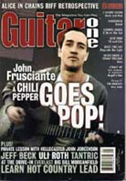 Guitar One April 2001