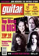 Guitar One August 1998