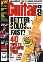Guitar One July 2005