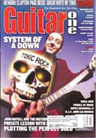 Guitar One October 2001