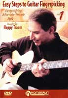 Happy Traum – Easy Steps To Guitar Fingerpicking Volume 1