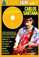 Jam with Carlos Santana (Tab Book)