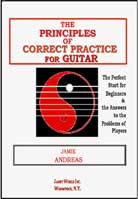 Jamie Andreas – The Principles of Correct Practice for Guitar