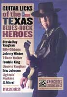 Jesse Gress – Guitar Licks of the Texas Blues-Rock Heroes