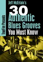 Jeff McErlain – 30 Authentic Blues Grooves You Must Know