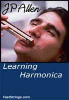 JP Allen – Learning Harmonica