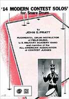 John S Pratt – 14 Modern Contest Solo for Snare Drum