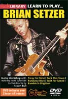 Learn To Play Brian Setzer