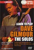 Learn to play Dave Gilmour The Solos