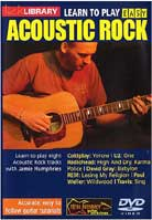 Learn To Play Easy Acoustic Rock Volume 1