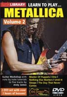 Learn to Play Metallica Volume 2