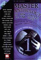 Master Anthology Of New Classic Guitar Solos Volume 1