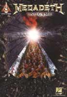 Megadeth – Endgame Guitar Tab Songbook