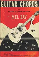 Mel Bay's Guitar Chords in Picture and Diagram Form