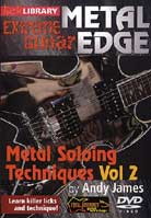 Metal Edge: Metal Soloing Techniques Volume 2