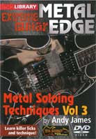 Metal Edge: Metal Soloing Techniques Volume 3