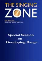 Per Bristow – The Singing Zone: Special Session on Developing Range
