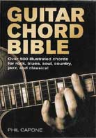 Phil Capone – Guitar Chord Bible