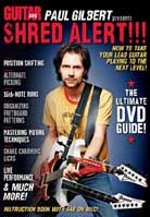 Guitar World – Paul Gilbert presents Shred Alert