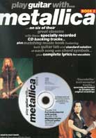 Play Guitar With Metallica Book 2